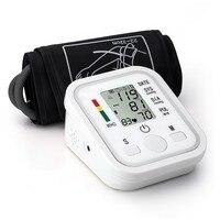 Free Shipping Home Health Care Digital Lcd Arm Blood Pressure Monitor Heart Beat Meter Machine Tonometer