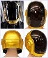Daft Punk Шлем Косплей ПВХ Полный Глава Маска Хеллоуин Реквизит Реплика