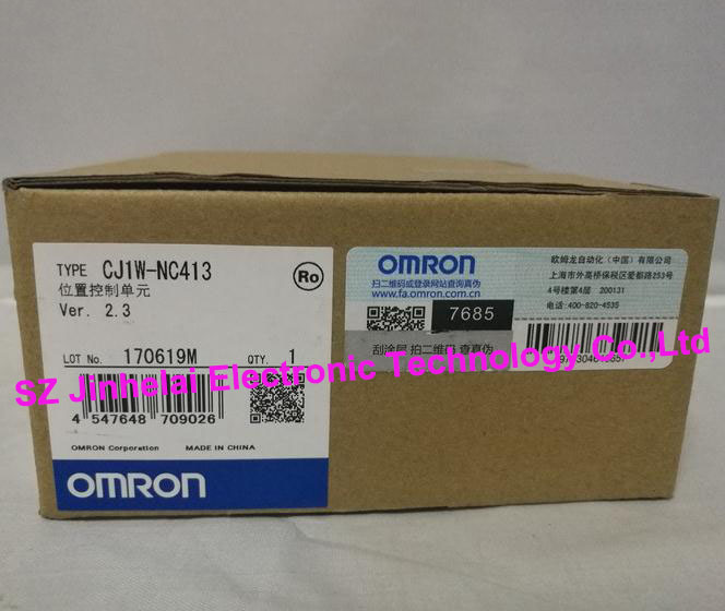 New and original CJ1W-NC413 OMRON Position control unit cj1w tc101 temperature control unit
