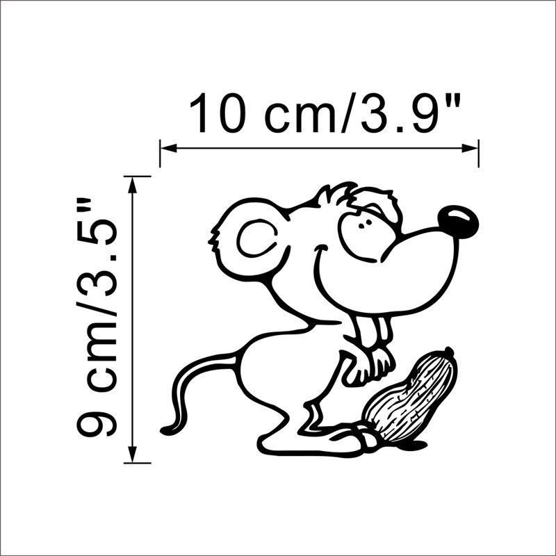 Funny Cat Switch Decoration Sticker