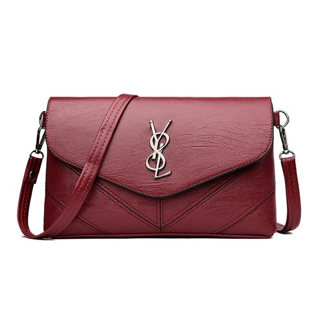 Latest New Fashion Brand Y8L Design Women Black Red Shoulder   Crossbody Bag  Handbag Girls Messenger 62c823a84d316