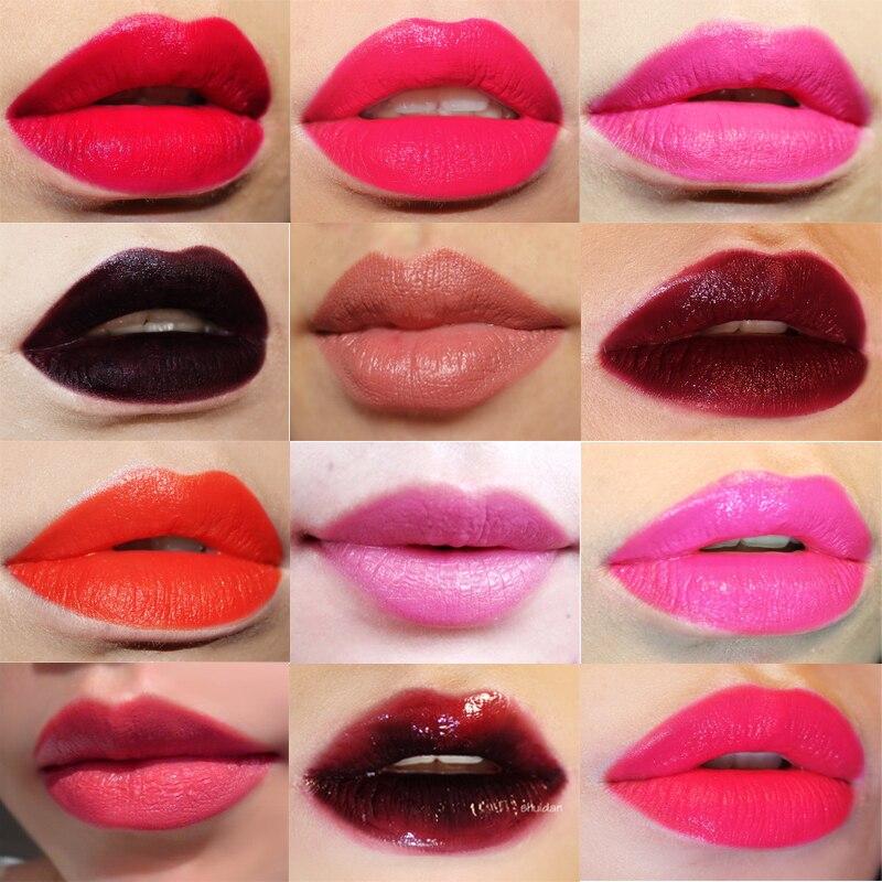 Hot Red Lipstick Art Beauty