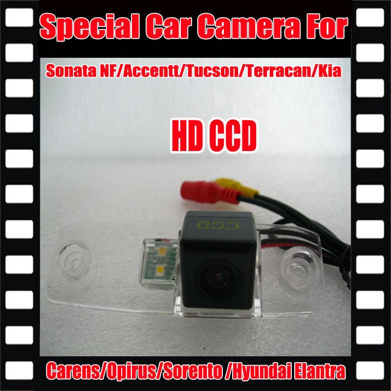 Rétroviseur n ° de sauvegarde Cam vue Arrière de Voiture Caméra pour Hyundai Elantra/Sonata NF/Accentt/Tucson/Terracan/Kia Carens/Opirus/Sorento