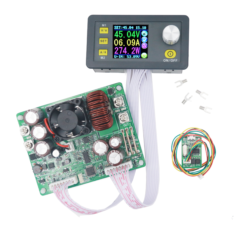 DPS5020 50V 20A Constant Voltage Current Converter LCD Voltmeter Step-down Communication Digital Power Supply  22%off