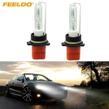 FEELDO 1 пара белый 6000 К автомобиля 12 В 35 Вт P13W ксеноновых ламп замена HID фары Singel лампы