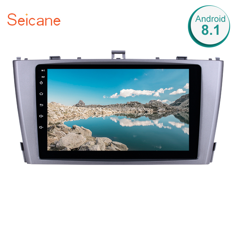Seicane Android 8 1 9 2Din Multimedia Player For 2009 2013 Toyota AVENSIS GPS Car Radio