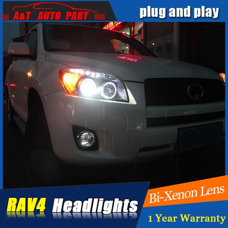 Автозапчасти стайлинга для Тойота РАВ4 2009-2013 фары для RAV4 Би Ксеноновые линзы H7 Ксеноновые