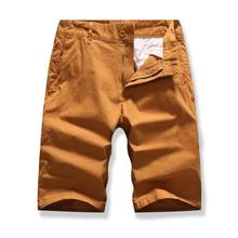 More pockets Board Shorts For Men Solid color Multicolor Tooling Summer Cargo Clothes Short Pants