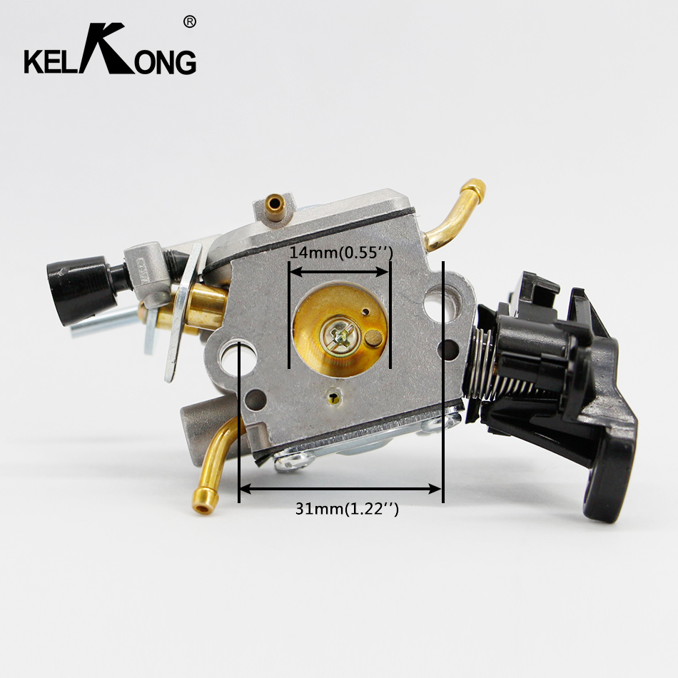KELKONG For Husqvarna 445 <font><b>450</b></font> <font><b>Carburetor</b></font> E JONSERED CS2245S 506450401 Carb Chainsaw For Zama C1m-el37b image