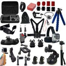 gopro accessories set kit mount for- Go pro hero3 Black Edition / gopro hero5/4/3/2/1 / xiaoyi mi 13E