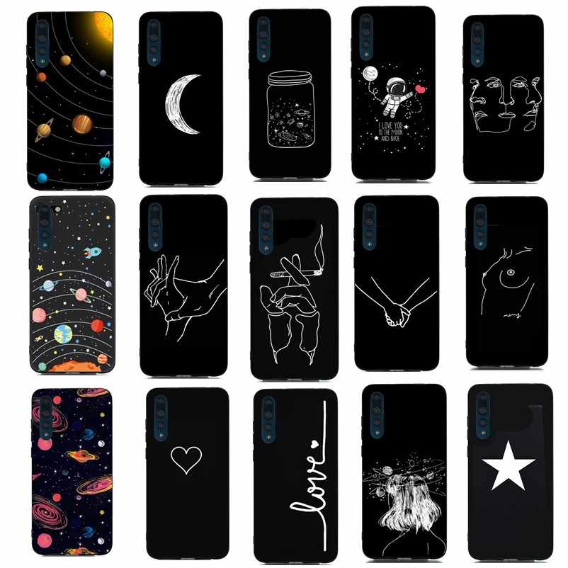 Luxury Silicon Coque For Huawei P30 ProP30Pro Case Love Shell Back Cover For Huawei P30 P20 Lite P Smart Y6 2018 Phone Case