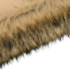 Image 4 - 새로운 트림 가짜 너구리의 모피 견면 벨벳 O 가방에 대 한 열 봉 제 장식 클래식 큰 미니 obag에 맞게