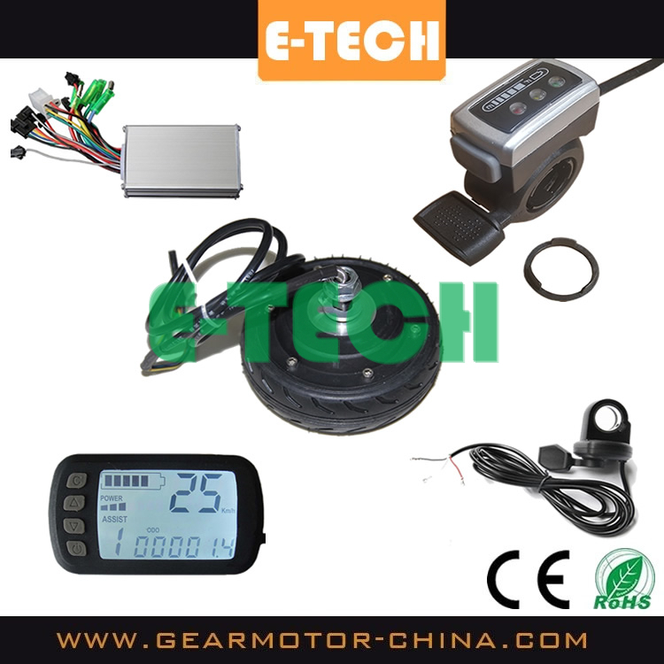 Etech electric scooter conversion kits 5inch hub motors for Scooter hub motor kit