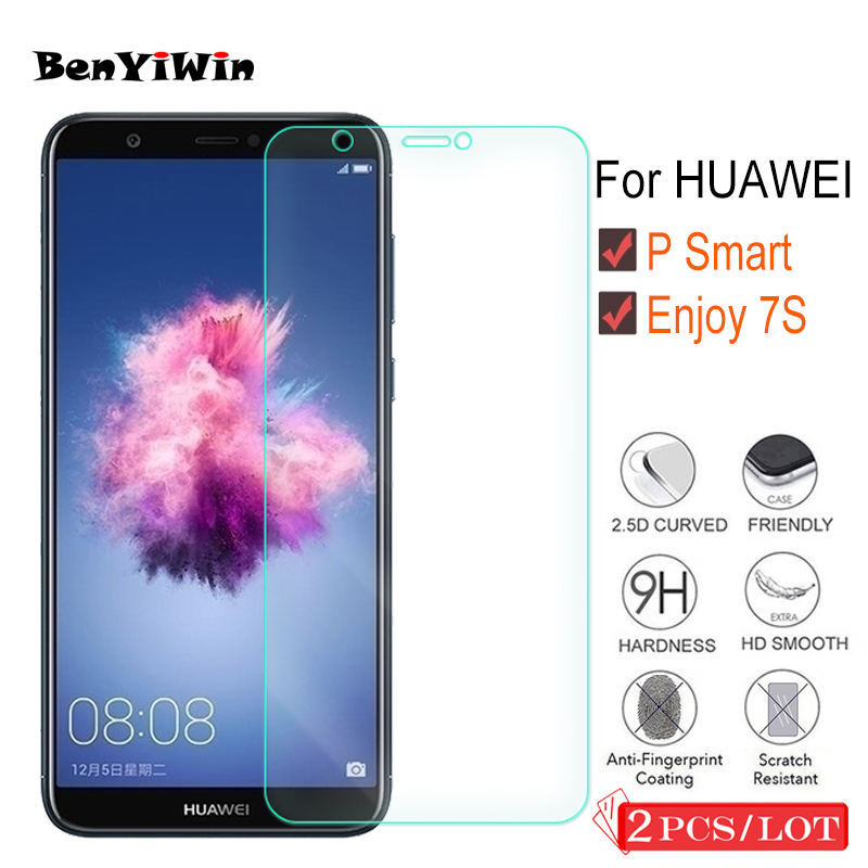 2 Pcs Premium Tempered Glass For Huawei P Good Display screen Protector Clear Toughened Protecting Movie Case For Huawei Get pleasure from 7S Glass
