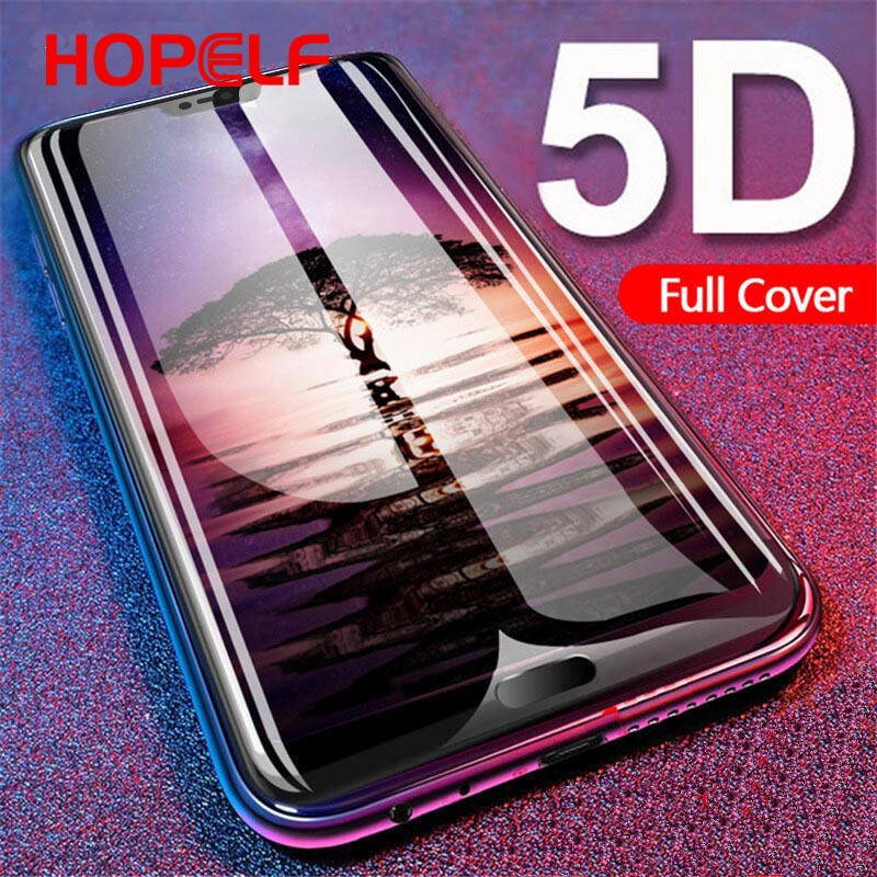 5D Glass For Huawei P20 Pro Screen Protector Protective Glass For Huawei Honor 10 P10 Mate 10 lite Nova 3 3i P Smart 2019-in Phone Screen Protectors from Cellphones & Telecommunications on