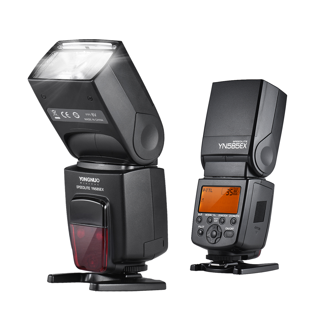 цена на YONGNUO YN585EX P-TTL HSS 1/12000 s 2.4G Wireless Flash Speedlite for Pentax K-K-S1 K-S2 K-K-3II K5 K50 KS2 K100 K-K-
