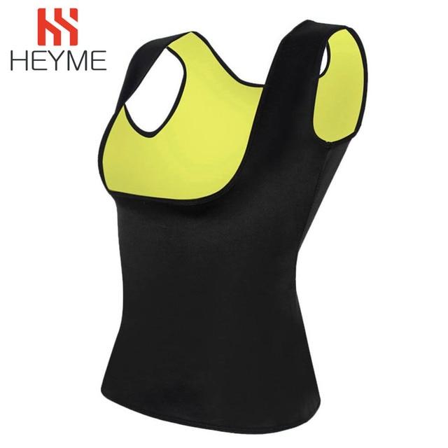 HEYME Women Thermo Sweat Neoprene Body Shaper Slimming Waist Trainer Cincher Slimming Wraps Product Weight Loss Slimming Belt 5