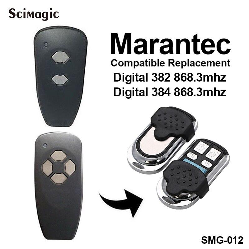 Marantec Digital 382 Digital 384 garage door remote constroller Compatible with MARANTEC 131 D302 D304 D313 D323 D321 868mhz Marantec Digital 382 Digital 384 garage door remote constroller Compatible with MARANTEC 131 D302 D304 D313 D323 D321 868mhz