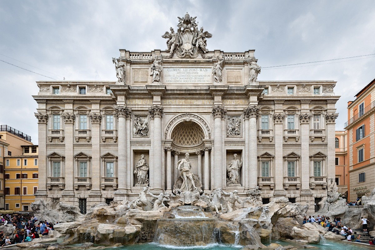 trevi fountain images - HD3500×2325