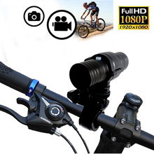 LANQIN HD 1080P Vedio Camera with Built-in Li-ion battery Portable Bicycles Camera DV (HD2000)(China)