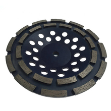 GD49 D180mm Diamond Grinding Pads 7 Inch Concrete Grinding Disc Polishing Wheel for Stone and Concrete Floor 9PCS
