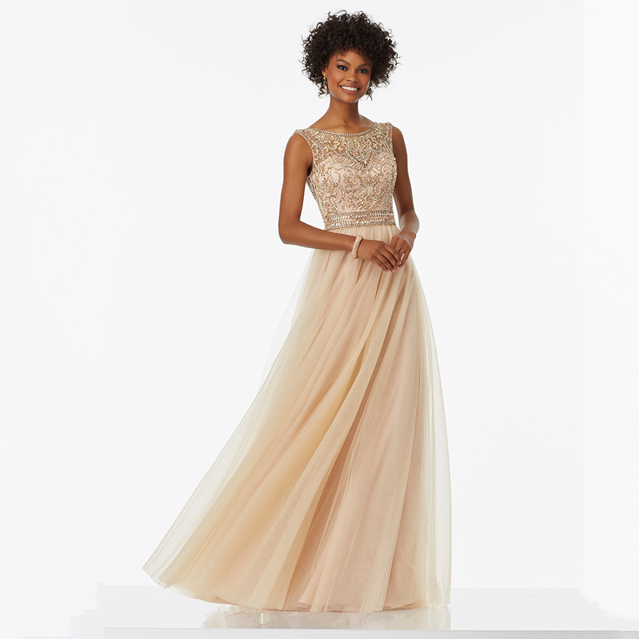 Popular Champagne Evening Dress-Buy Cheap Champagne Evening Dress ...