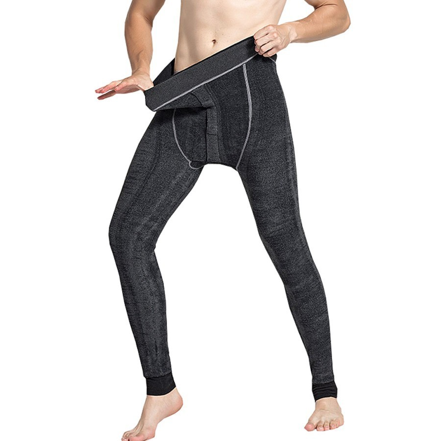03fd13f0869 450g Protect Cold Winter Soft Keep Warm Pants Underpant Wool Thermal  Underwear Tights Long Johns Mens