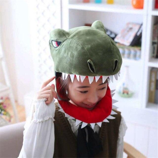 Плюшевая Шапка Динозавр 4