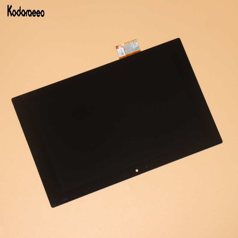Kodaraeeo For Sony Xperia Tablet Z SGP311 SGP312 SGP321 Touch Screen Digitizer+LCD Display Assembly Panel Parts Replacement 5 2 black white color lcd display touch screen digitizer assembly for sony xperia z5 e6633 e6603 e6653 replacement parts