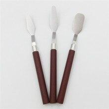 3 шт./5 шт. нож из нержавеющей стали для рисования, клинок, скребок для палитры, набор, Ножи-шпатели для художника, инструмент для рисования маслом