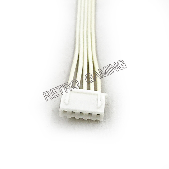 2 pcs/lot 20CM 5 pin cable for Sanwa joystick Jamma arcade PC/PS2/PS3/XBOX USB Encoder, control board wiring harness
