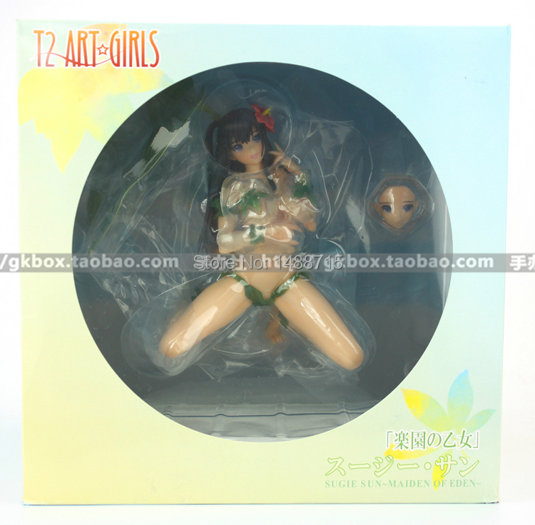 New <font><b>Hot</b></font> Alphamax Skytube Tony T2 Art <font><b>Girls</b></font> Sugie Sun Maiden Of Eden Naked 1/6 Scale <font><b>Sexy</b></font> Can Take Off Figure Toys image