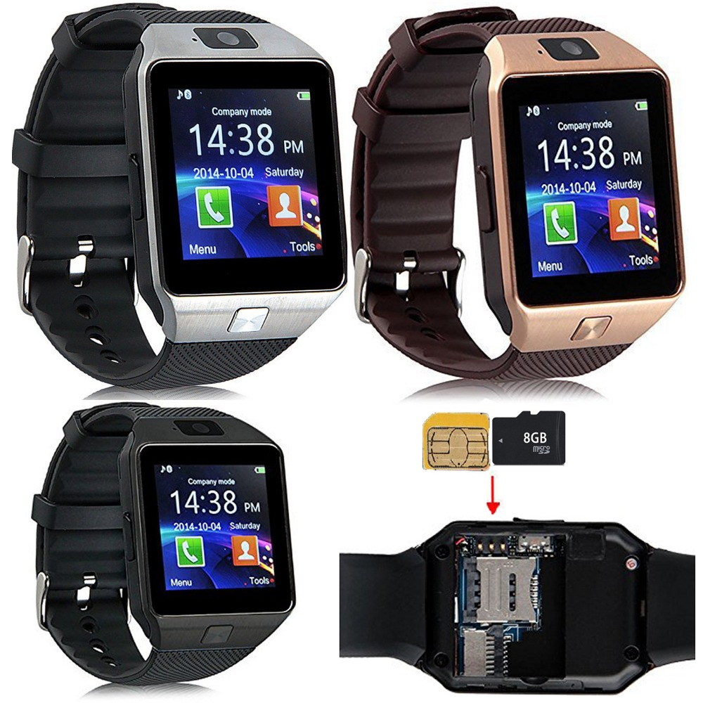 Screen Touch Bluetooth Wrist font b Smart b font font b Watch b font Phone With