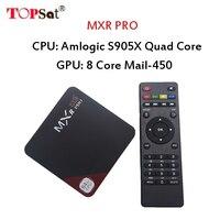 2017ขายร้อนสมาร์ทAndroid 7.12กล่องทีวีQuad core Amlogic S905X MXR PROที่มีการ