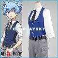 Assassination Classroom Ansatsu Kyoushitsu Shiota Nagisa Cosplay Costume Cos