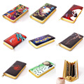 Anime Pokemon Go/Totoro/Hellsing/One Piece etc Multifunction Casual Long Wallet/Cell Phone Clutch Purse