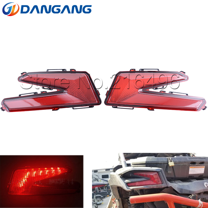 Right & Left Rear Taillight Rear Light  For Can Am Maverick X3 XDS XRS 4x4 Turbo DPS 2017 2018 710004744