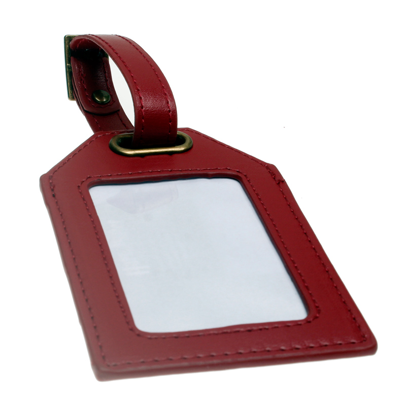 Image 3 - Red  Luggage Tag DFT 1491-in Travel Accessories from Luggage & Bags