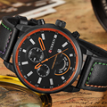 Curren fecha casual cuarzo relojes de primeras marcas de lujo relojes de pulsera militar negocios reloj masculino reloj de cuarzo relogio masculino