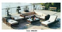 Extra Large уличная мебель U образный ротанга диван с шезлонг лежащий стул 2016 новинка садовый диван Ratten