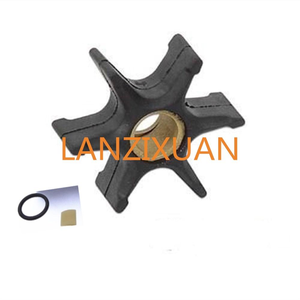 Impeller-395864-397131-435821-435748-5001593-18-3059-with-Key-for-Johnson-Evinrude-OMC-BRP-V4