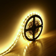 164ft 300 units smd 5050 leds flexible light strip 3000k warm white non waterproof 12 volt indoor party christmas holiday f - 12 Volt Led Christmas Lights