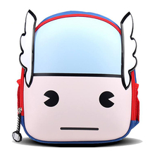 Disney Marvel Lovely Cartoon Figure Statue Thor Polyester Mini Backpack Kids Educational Toy Gifts For Children