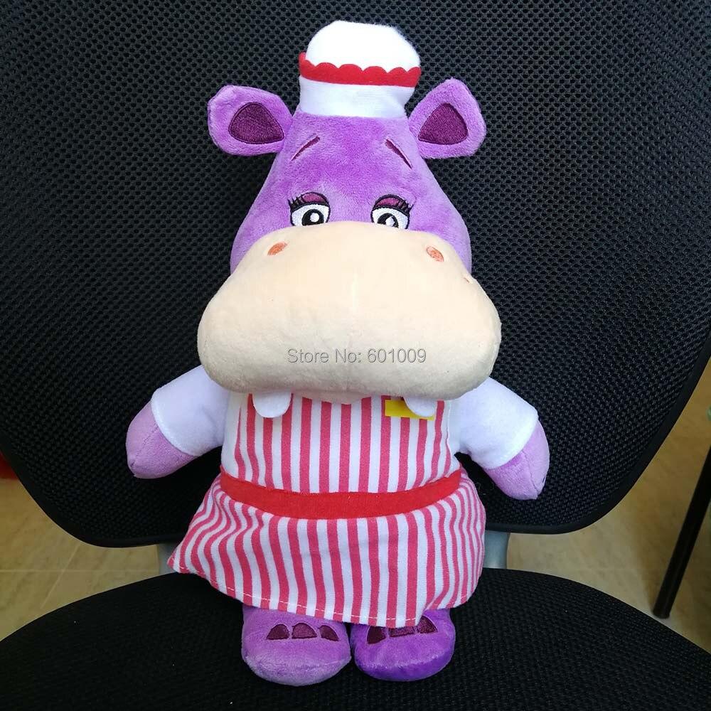 Doc McStuffins Hallie hippo 35CM Plush Doll Toy Retail