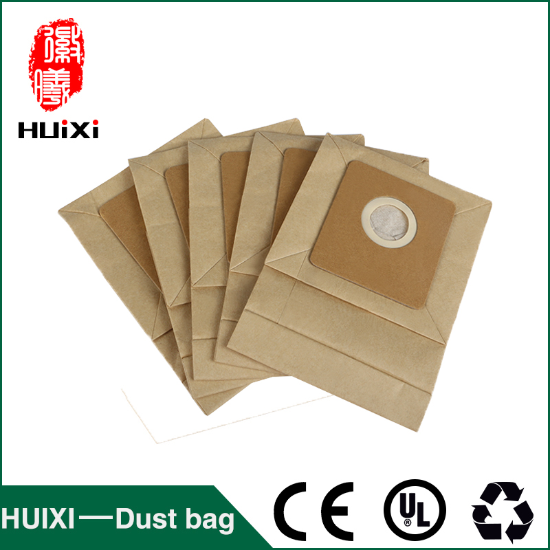 40mm Universal dust paper  bags and dust filter bags with good quality of household vacuum cleaner parts for QW12T-609 QW12T-610