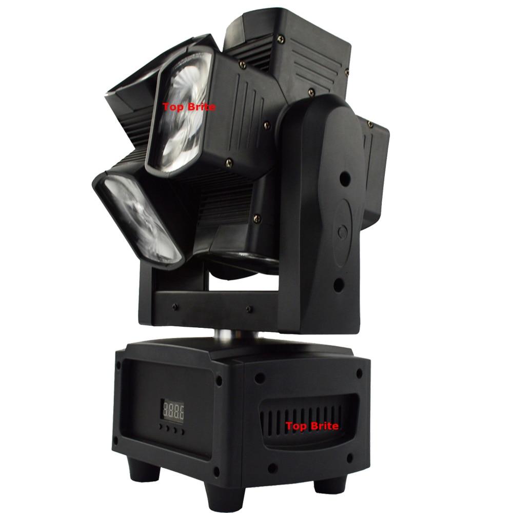 2XLot Besplatna dostava 8 * 12W RGBW 4IN1 Jedinstvena dvostruka os - Komercijalna rasvjeta - Foto 3