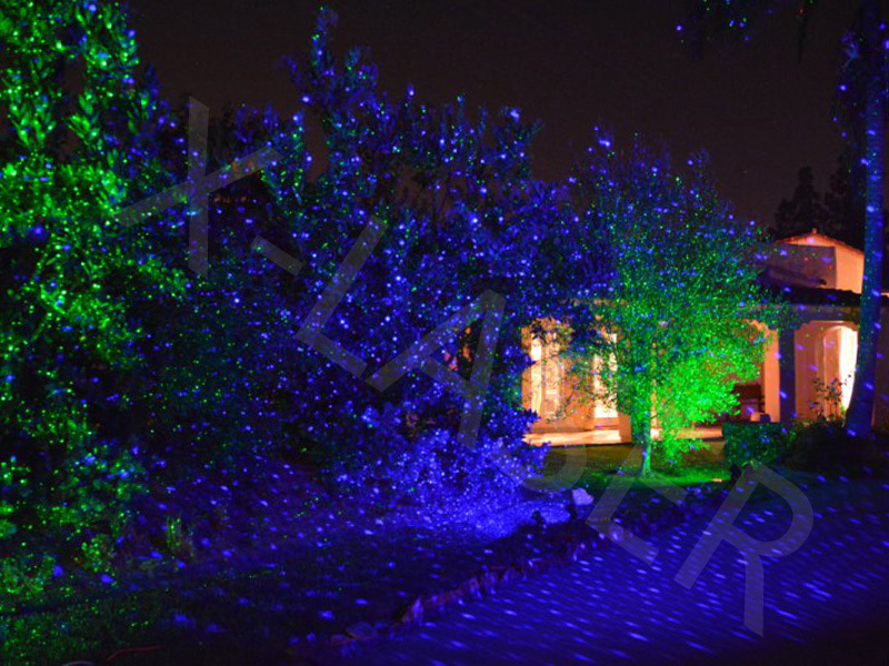 elf light christmas lights projector outdoor lasergreen and blue moving garden laser decoration in stage lighting effect from lights lighting on - Elf Laser Christmas Lights