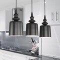 Envío gratis Personalidad Creativa moderna Lámpara de Luz Colgante de Loft Industrial Americana Lámpara De Sala de estar
