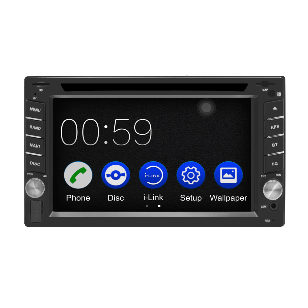 Image 3 - 2DIN Car DVD Player Radio GPS Bluetooth Carplay Android Auto for X TRAIL Qashqai x trail juke for nissan SWC FM AM USB/SD-in Car Multimedia Player from Automobiles & Motorcycles