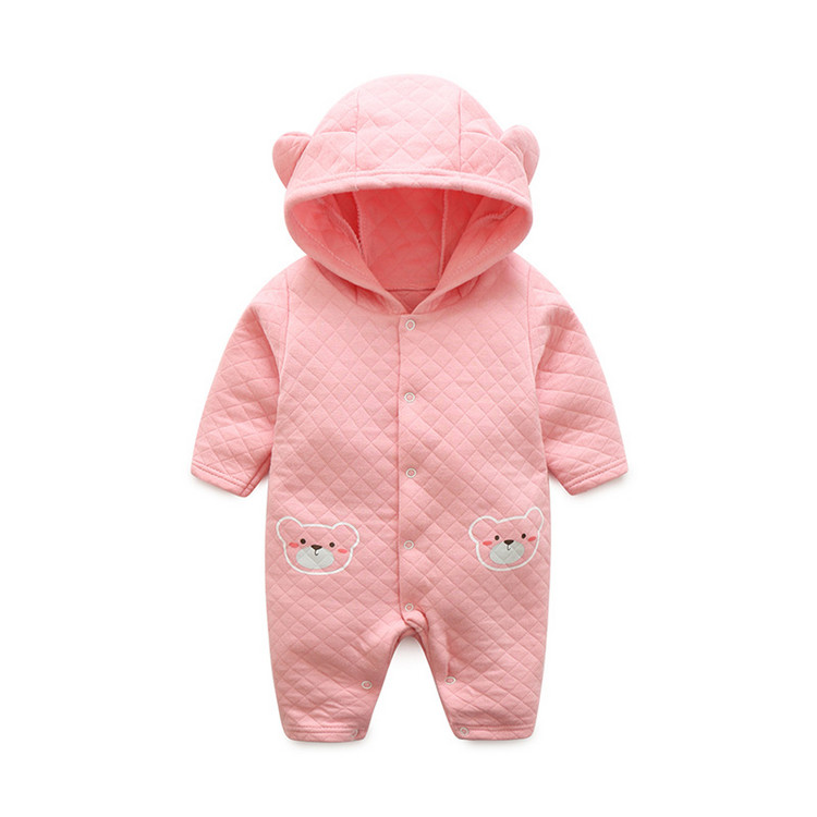 baby rompers 100%cotton clothes new winter/spring rompers Thickening and warming infant/kids romper baby rompers o neck 100